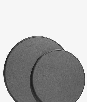 bordskivor runda rektangel laminat