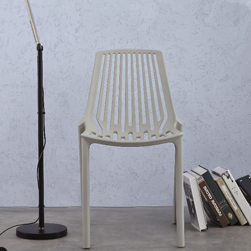 magaluf grå vit turkos svart stapelbar stol cafemöbler restaurangmöbler