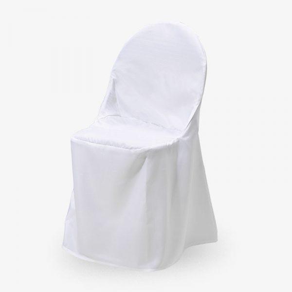 vitt stolsöverdrag ark konferensstol fällbar ihopfällbar