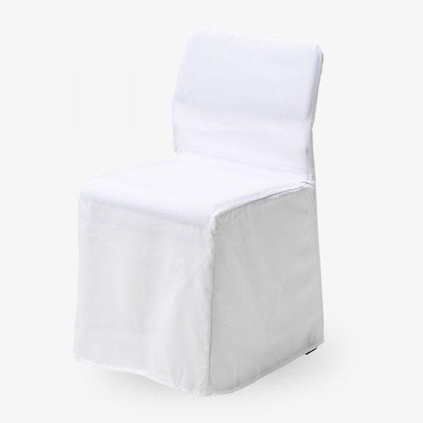 vitt stolsöverdrag nice konferensstol stapelbar