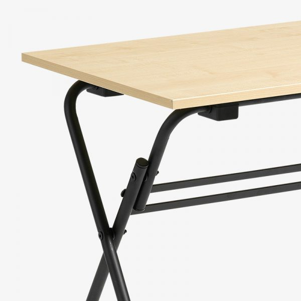 fällbart bord vit svart bok ek björk krom laminat