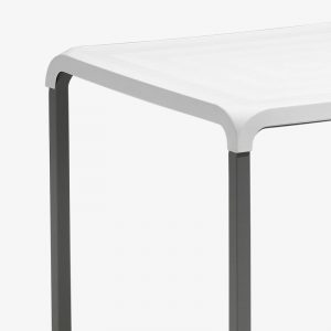 stapelbart cafébord cafebord bord vit