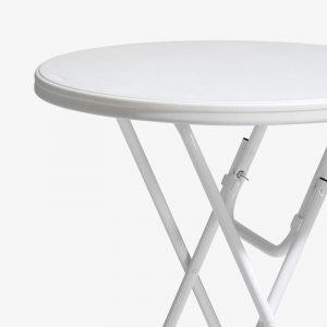 ståbord barbord bordsöverdrag fällbart fällbara bord vit