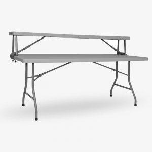 extra hylla bord buffe grå fällbar fällbart