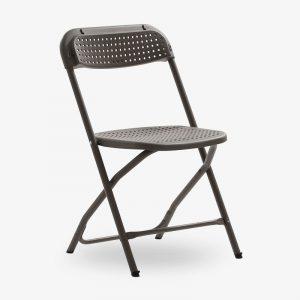 klappstol fällbar stol big alex brun