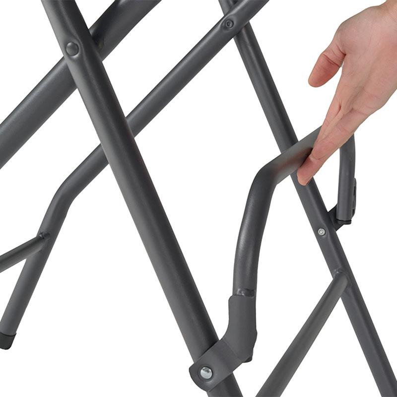 barstol alvar fällbar grå