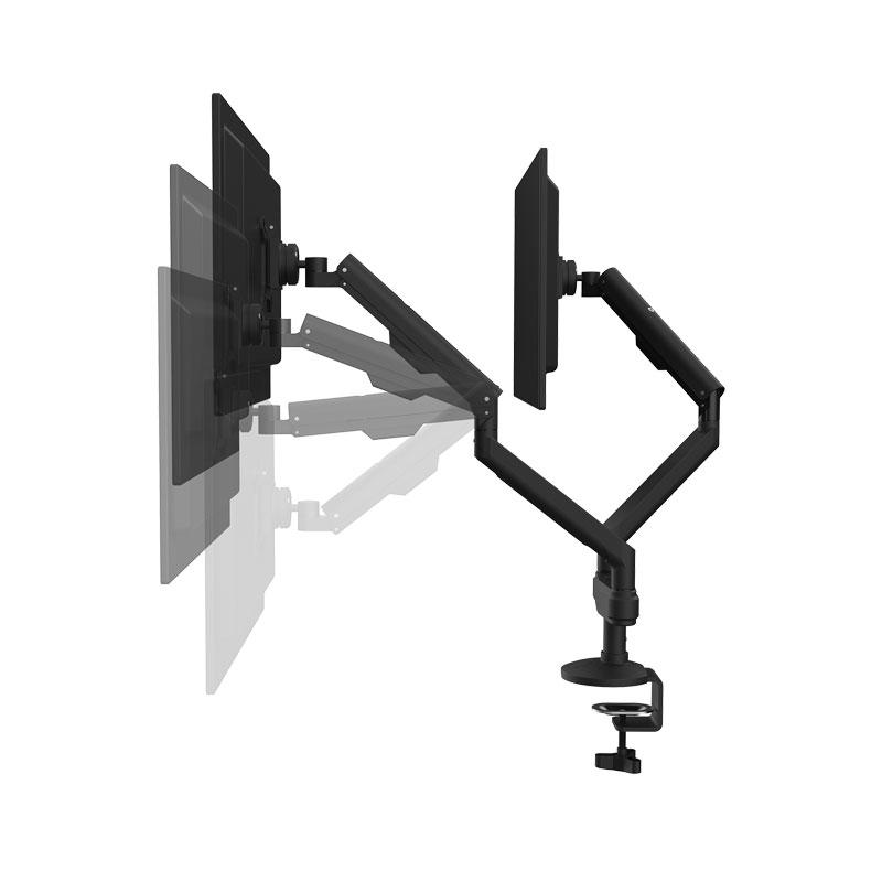 monitorarm 2 skärmar