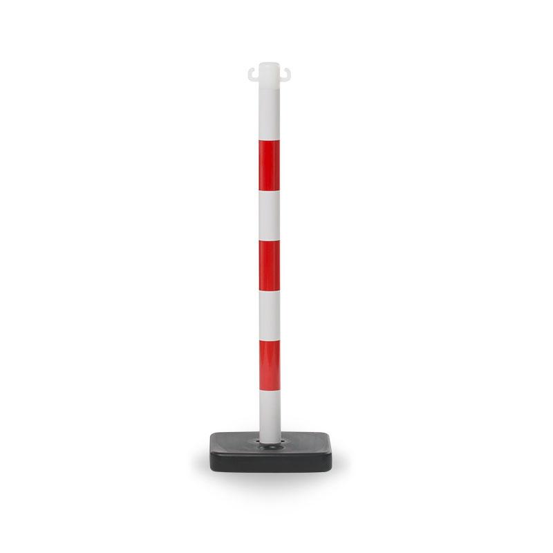 avspärrningstolpe röd/vit